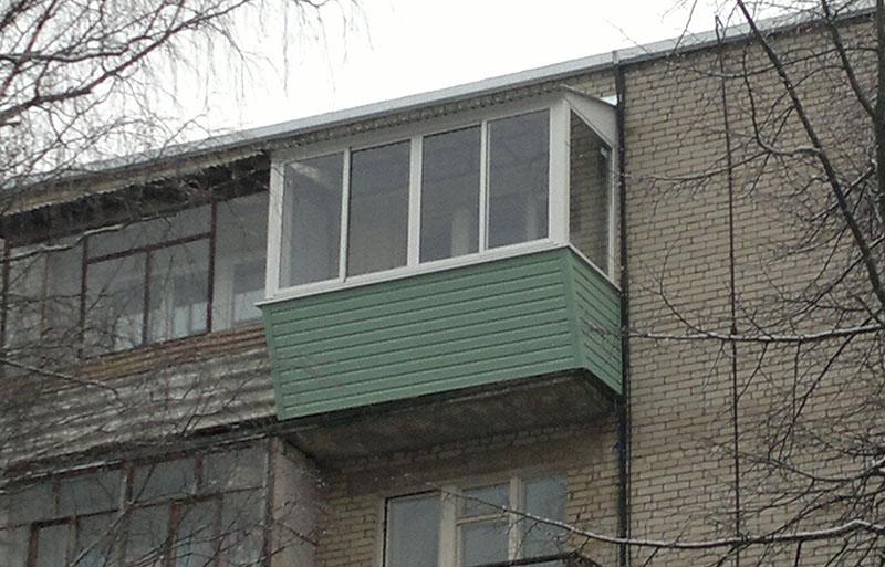Остекление балконов в балашихе - артстройокна.